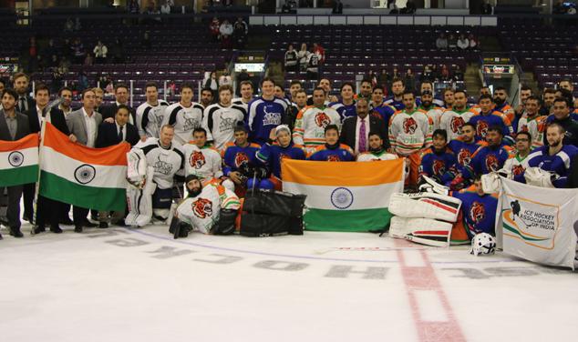 Beast vs Team India (Photo by Frank Raymond | Brampton Beast)