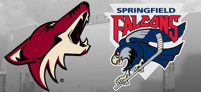 Coyotes Move AHL Affiliate from Springfield to Tucson