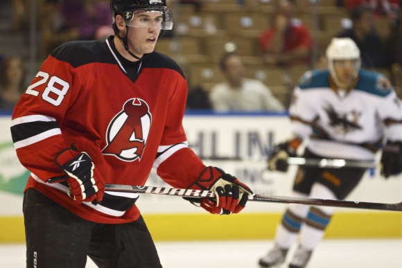 Devils Dan Kelly Suspended by AHL