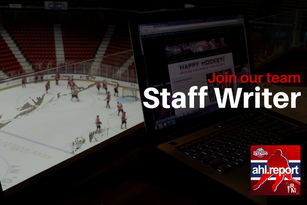 Staff Writer - AHL