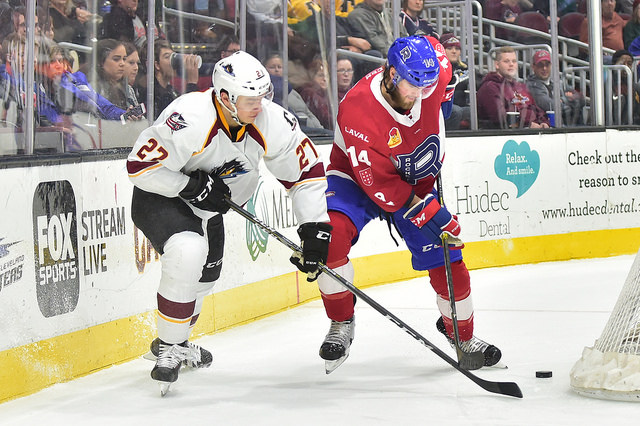 RECAP | Rocket – Monsters: Physical Hockey in Cleveland, Laval Loses Steam