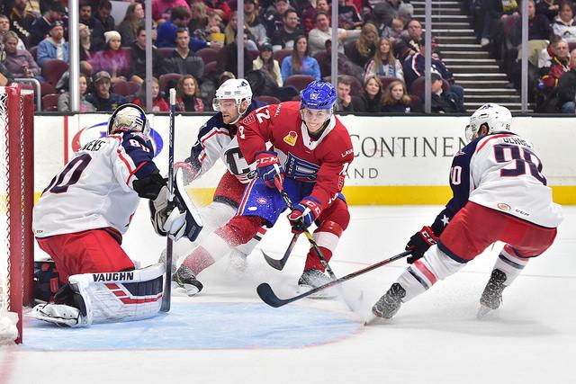 RECAP | Rocket – Monsters: Evans Scores Twice, Laval Wins Third Straight