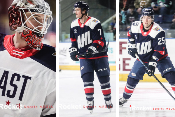 AHL ALL-STAR CLASSIC | Interviews with Blackwood, Carr, Terry [VIDEO]