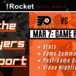 Flyers Report Recap – Capitals