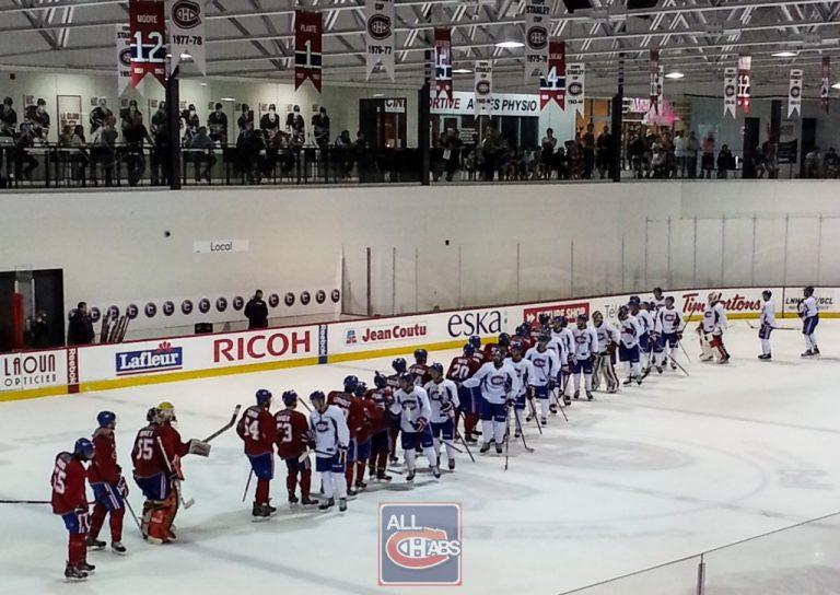 Prospect Report: Canadiens Development Camp Final Scrimmage