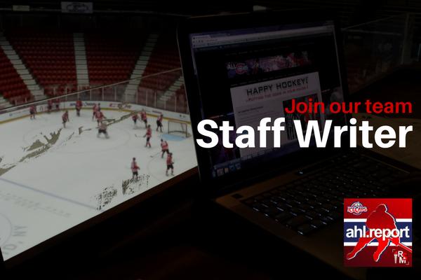 Staff Writer - AHL