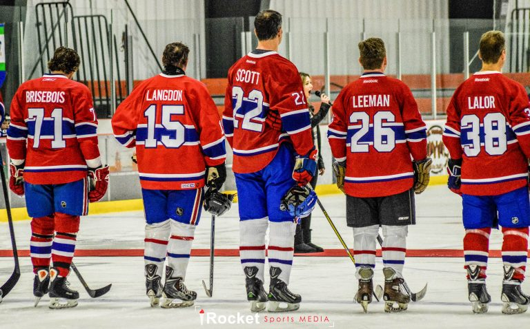 GAME PHOTOS   Richer, Scott, Nilan Star With Canadiens Alumni [Gallery]