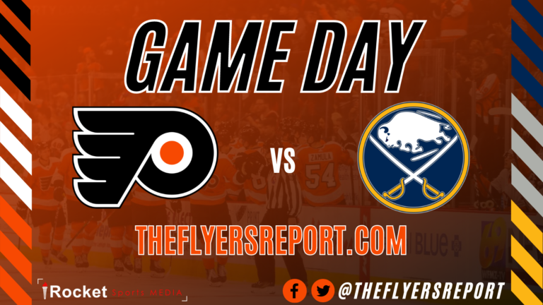 Flyers – Sabres: Frost Warning   GAME PREVIEW