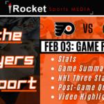 Flyers Report Recap – Bruins