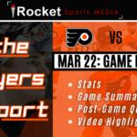 Flyers Report Recap – Islanders