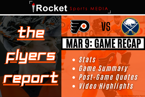 Flyers – Capitals: Philly Battles Back   GAME RECAP